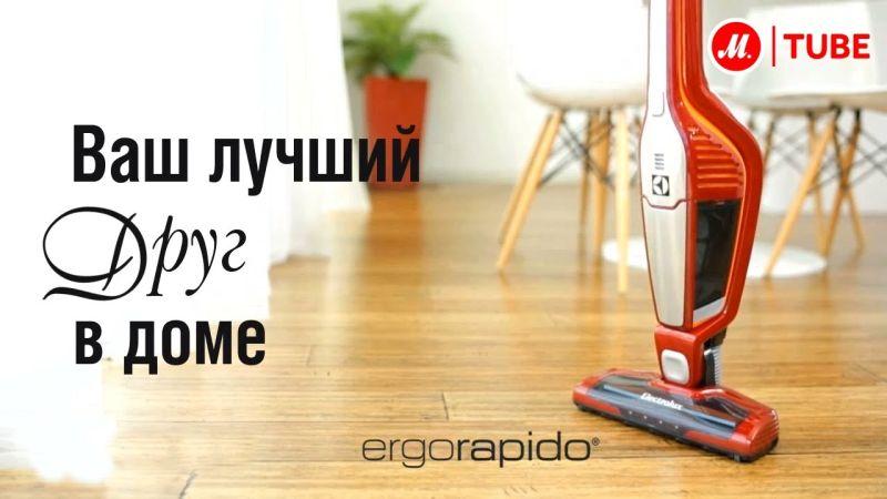 Аккумуляторный пылесос Electrolux Ergorapido